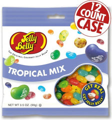 Jelly Belly Jelly Beans Bags Tropical Mix (12-3.5 oz)