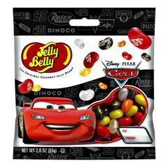 Jelly Belly Jelly Beans Bags Disney Cars  (12-2.8 oz)