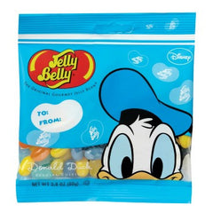 Jelly Belly Jelly Beans Bags Donald Duck Candy (12-2.8 oz)