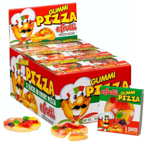 e.frutti Gummi Pizza (48 ct)