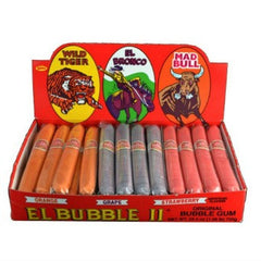 El Bubble II Bubble Gum Cigars 3 Flavors (36 ct)