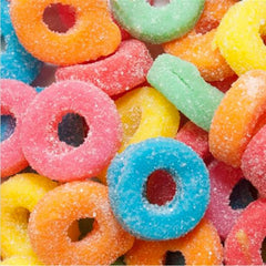 Ferrara Pan Assorted Mini Sour Gummy Rings (5 lb)