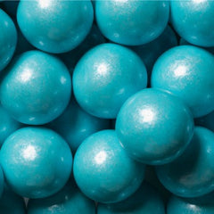Gumballs Shimmer Powder Blue 1""