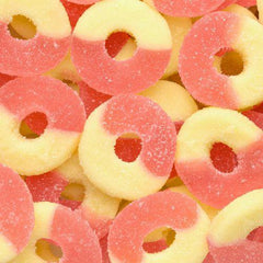 Albanese Gummi Rings Strawberry Banana