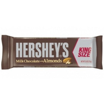 Hershey's Milk Chocolate with Almonds King (18 ct)