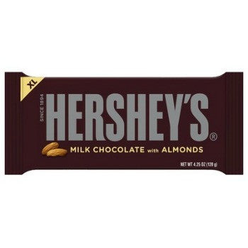 Hershey's XL Milk Chocolate with Almonds (12 ct)