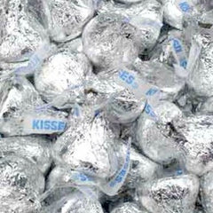 Hershey's Milk Chocolate Kisses Silver