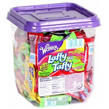 Laffy Taffy Tub Assorted (145 ct)