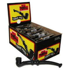 La Pipette Black Licorice Pipes Wrapped (60 ct)