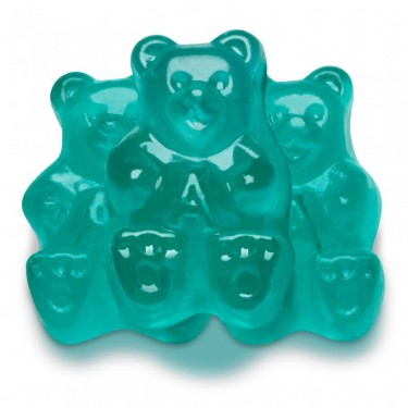 Albanese Light Blue Watermelon Gummi Bears (20 lb)
