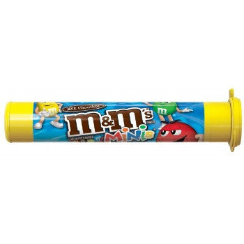 M&M's Milk Chocolate Minis Mega Tube (24 ct)