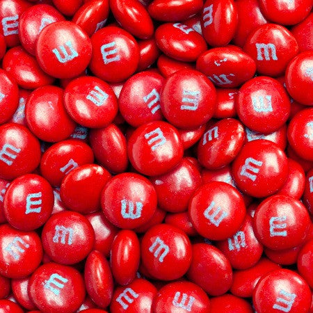 M&M's Milk Chocolate Red