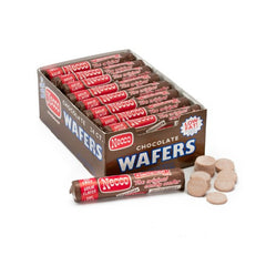Necco Wafers Candy Rolls Chocolate (24 ct)