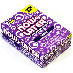 Now & Later 25¢ Grape (24 ct)