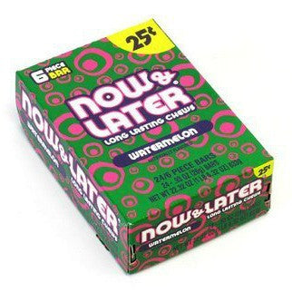 Now & Later 25¢ Watermelon (24 ct)
