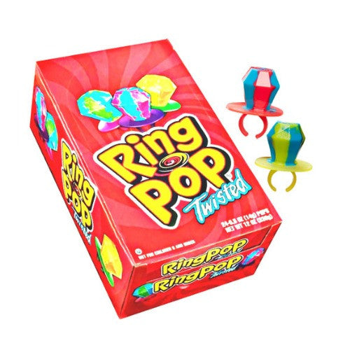Ring Pop Twisted (24 ct)