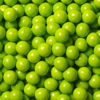 Sixlets Mini Chocolate Balls Lime Green