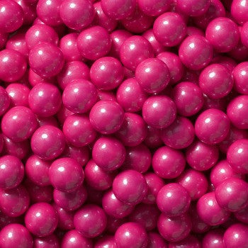Sixlets Mini Chocolate Balls Shimmer Bright Pink