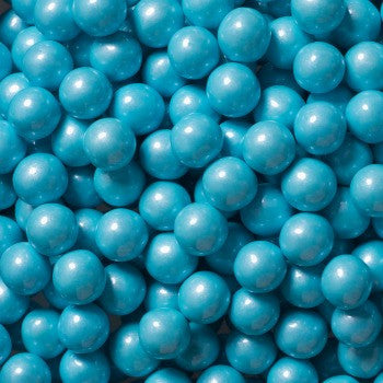 Sixlets Mini Chocolate Balls Shimmer Powder Blue