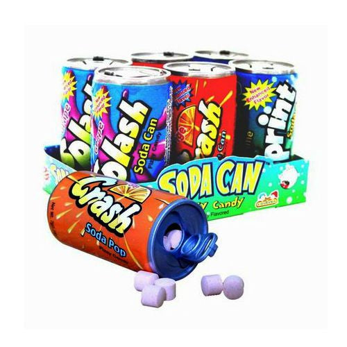 Soda Cans Fizzy Candy (12 ct)