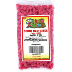 Sour Dudes Red Bites (4.4 lbs)
