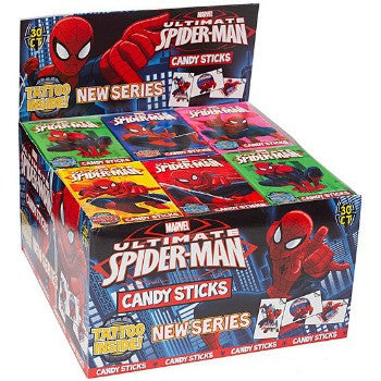 Spider Man Candy Sticks (30 ct)