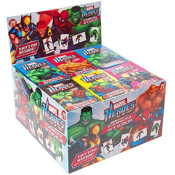 Super Hero Candy Sticks (30 ct)