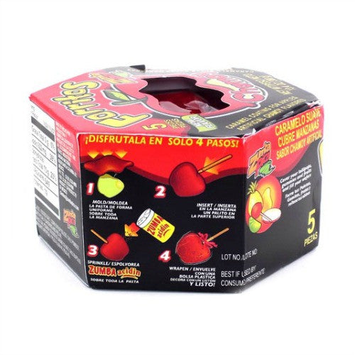 Zumba Pica Forritos Chamoy (5 ct)