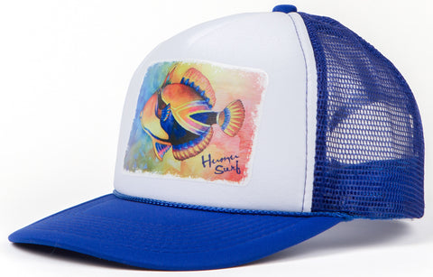 Ken's Watercolor Trucker Hat