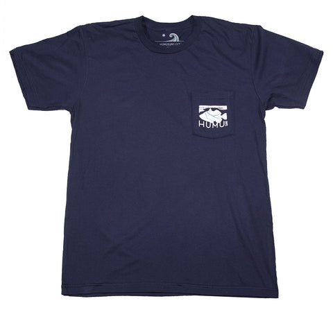 Men's Navy Pocket Tee Shirt