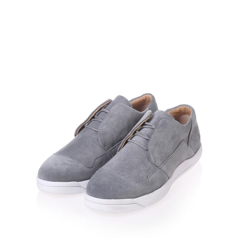 Gram Shoes - 365g Light Grey Suede