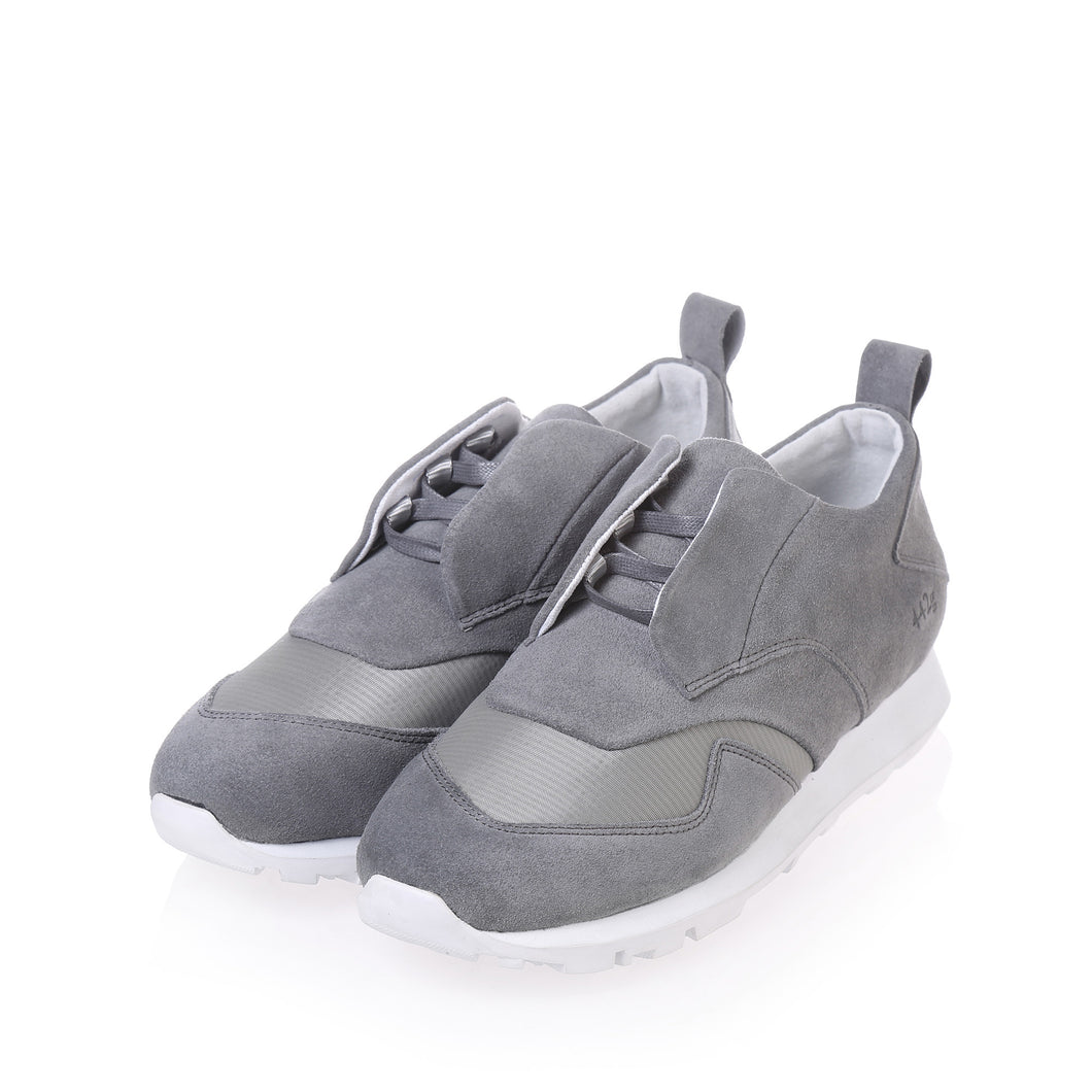 Gram Shoes - 442g Light Grey Suede