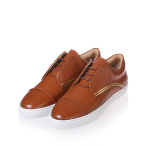 Gram Shoes - 430g Cognac Leather (Men)