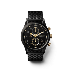 TRIWA Watches - Midnight Lansen Chrono