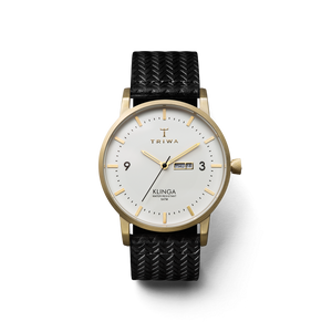 TRIWA Watches - Ivory Klinga (Gold/ White/ Black)