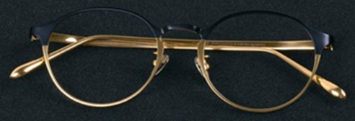 Classico T-collection T16 glasses - Navy/Gold