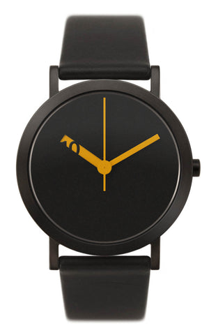 Normal Timepieces - Extra Normal Grande - Black/Orange