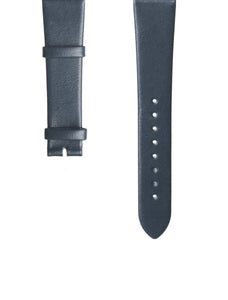 Navy Italian Leather Strap