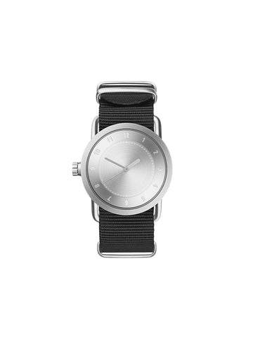 TID Watches - No.1 36 Steel / Black Nylon Wristband