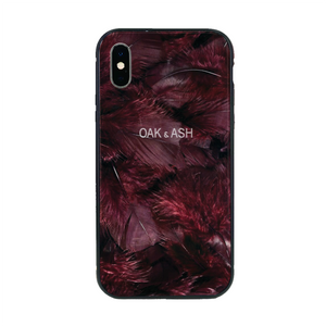 OAK & ASH The Phone Case - Red Feather