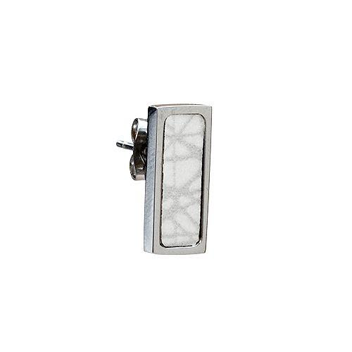 Virrvarr Rectangle Small Earring (Light)