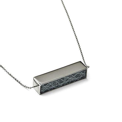 Virrvarr Spinning Cuboid Necklace Chain 65-75