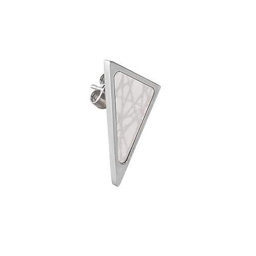 Virrvarr Triangle Earring (Light)