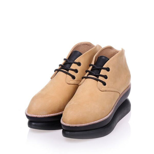 Gram Shoes - 478g Mustard Nubuck (Women)