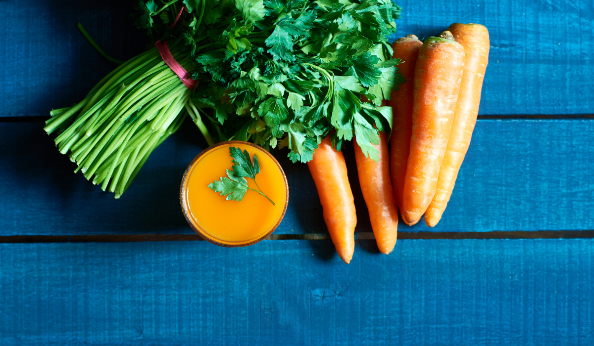 Parsley & Carrot Juice Recipe