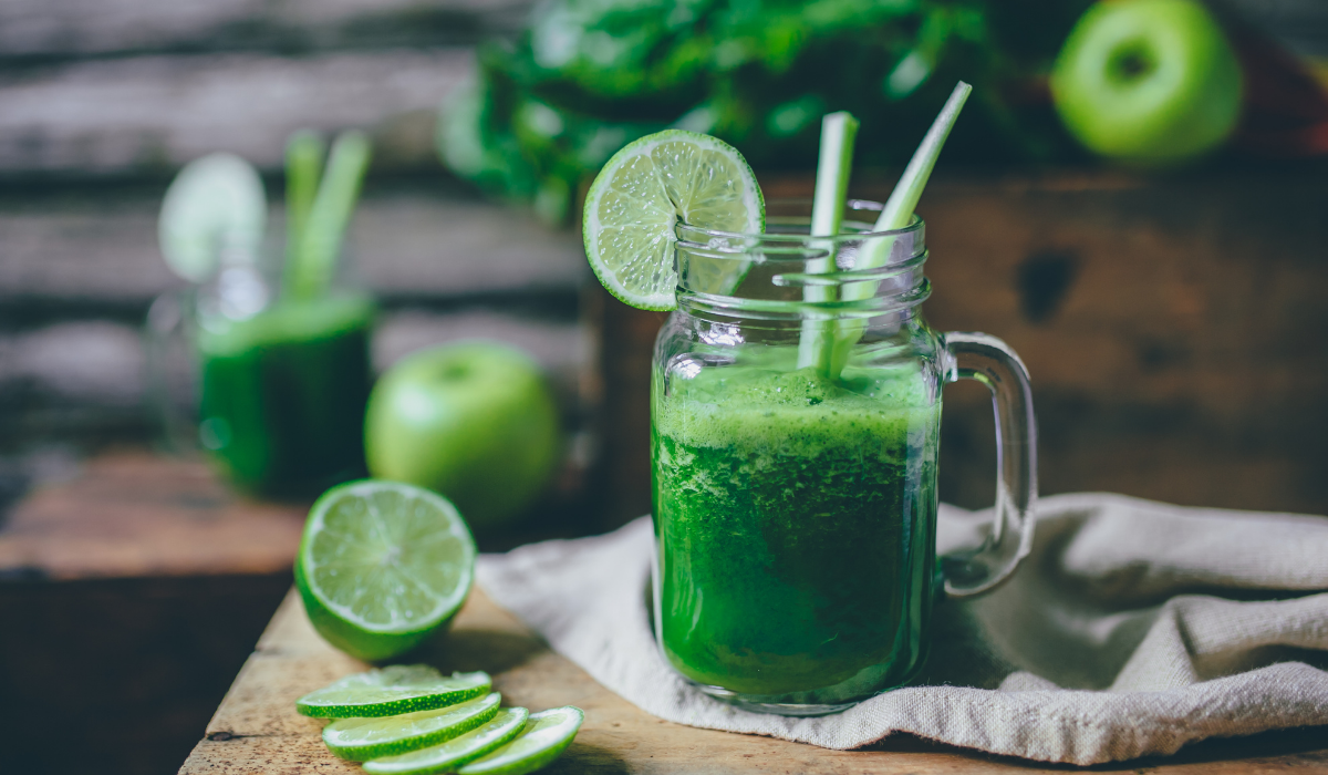 Superbowl Green Mocktail Recipe | Feb Fast
