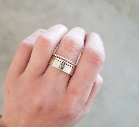 Stacking ring set - 3 rings.
