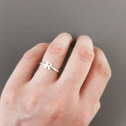 Little Initial ring