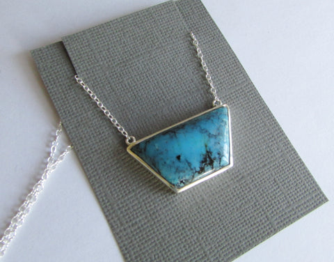 A unique once off piece - turquoise necklace