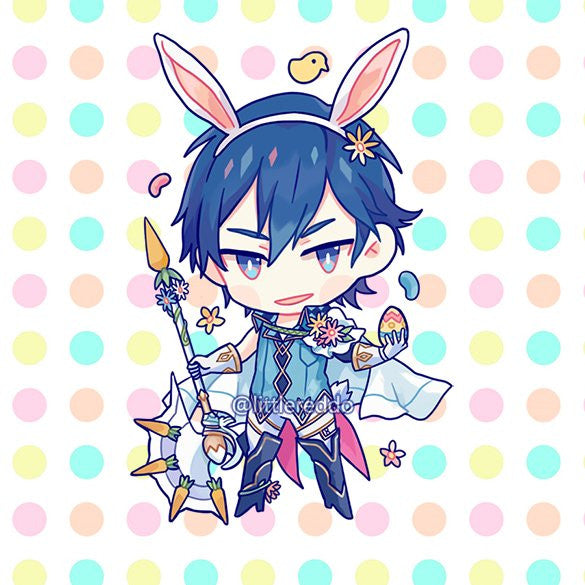 Easter Chrom Keychain